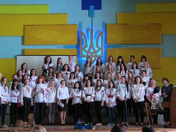 Екзамен з хорового диригування студентів спеціальності «Музичне мистецтво»