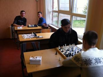 Змагання на першість коледжу з шахів