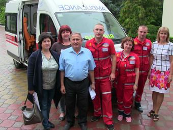 Зустріч із учасниками обласного чемпіонату бригад екстреної медичної допомоги