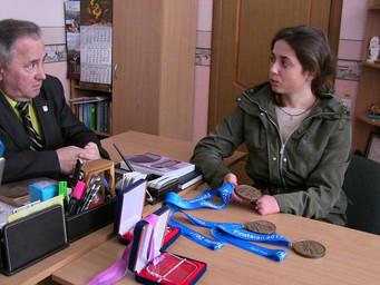 Ірина Буй відвідала рідну альма-матер