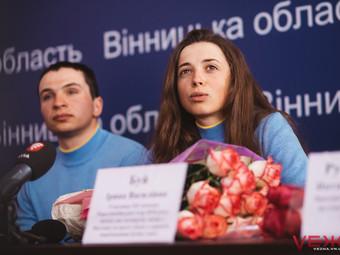 Випускниця коледжу Ірина Буй повернулася з ХІІ зимових Паралімпійських ігор