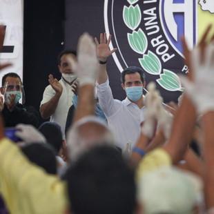 Guaidó en acto en rechazo al fraude 6D: Movilización y protesta son esenciales para la democracia