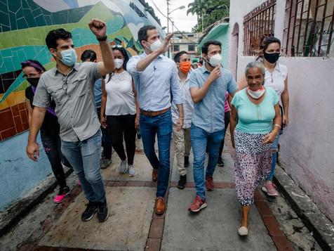 """Guaidó en Casa por Casa en Chacao: """"El 12/12 vamos a la calle a expresarnos a través de la Consulta"""""""