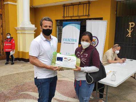 Embajada en Perú benefició a más de 50 familias venezolanas vulnerables con programa de alimentación