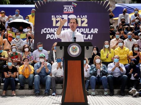 """Guaidó en cierre de campaña: """"Una y otra vez sí, nuestro país sí sirve y sí vale la pena luchar"""""""