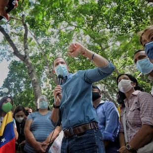 """Presidente (E) Guaidó: """"En la Consulta alzamos la voz en rechazo al fraude y al dictador"""""""