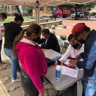 Embajada en Colombia hizo operativos consulares y consultas jurídicas en apoyo a migrantes vzlanos