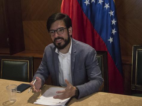 Comisionado Pizarro informó arribo de 30 toneladas de ayuda humanitaria a Venezuela
