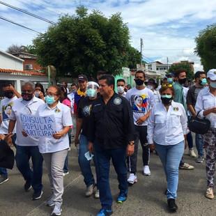 Diputados demócratas junto al pueblo recorrieron parte de Venezuela en apoyo a la Consulta Popular