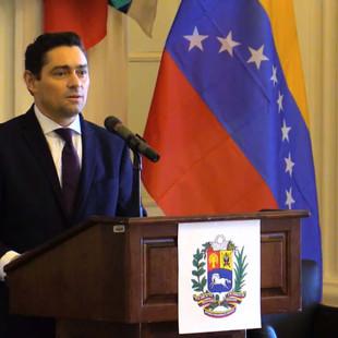 Embajador Vecchio agradece a promotores de mecanismos de protección para venezolanos en EE.UU.