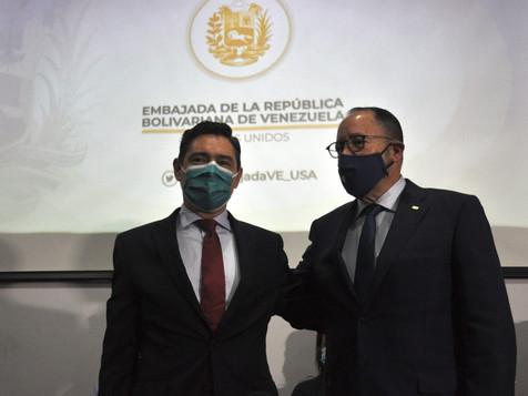 Embajada en EE.UU. y Goya Foods entregan 400 mil libras de comida al pueblo de Venezuela