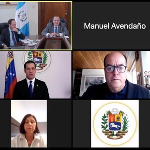 Presidente Giammattei reiteró apoyo a la lucha de los venezolanos