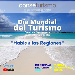 Conseturismo ofrecerá un espacio de expresión para el turismo en Venezuela este 30 de septiembre