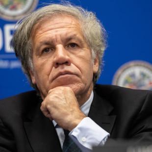 """Almagro pide a comunidad internacional rechazar el fraude de Maduro: """"Es un mecanismo de impunidad"""""""