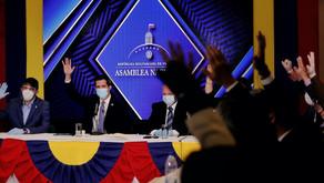 AN reformó Estatuto de Transición que legitima continuidad constitucional del actual parlamento