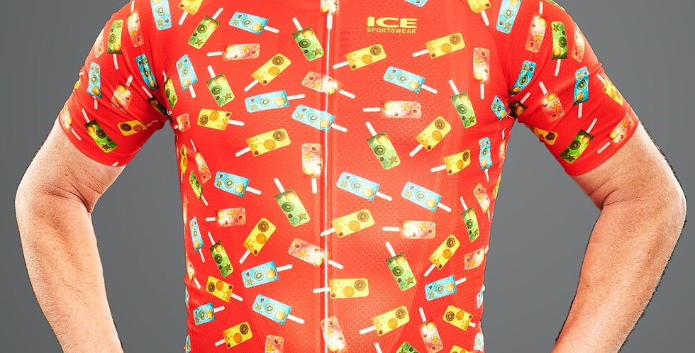 POPSICLE Men's Jersey - RED