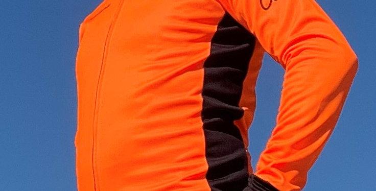 PASUBIO Fall/Winter Fleece Jersey - ORANGE