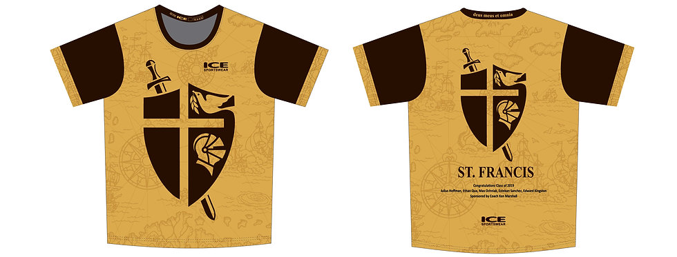St. Francis Tech T Shirt