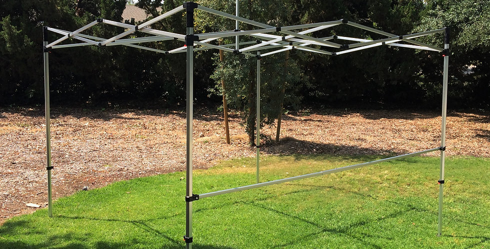 Aluminum Hex Frame - 10'x10', 10'x15', or 10'x 20'