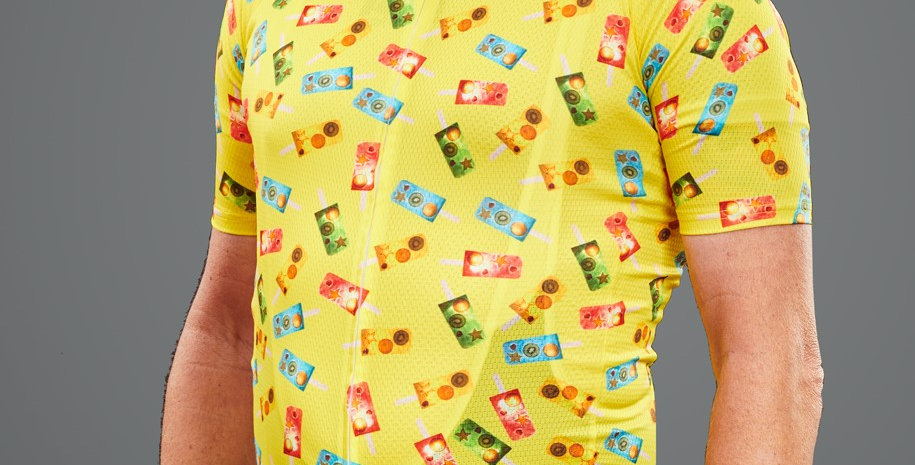 POPSICLE Men's Jersey - YELLOW