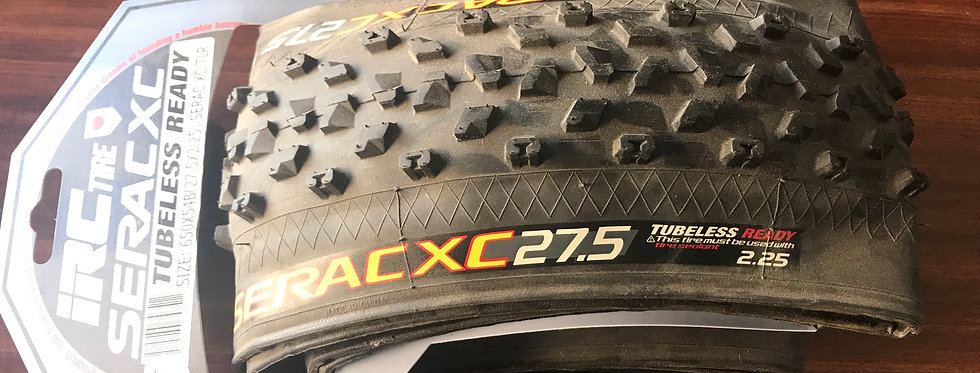 IRC SERAC XC 27.5x2.25 MTB tire - tubeless ready