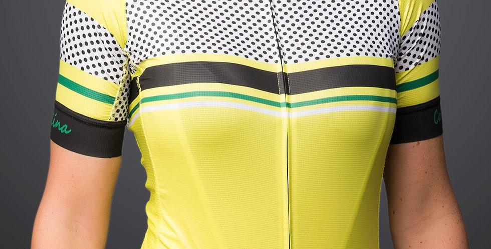 Collina STELVIO Women's Jersey - YELLOW