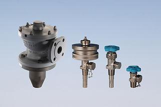 Ermeto vales, ermetovalves, valves, robinetterie, chlorine, CL2, chlorine range, safe carriage, toxic gases, DN40PN25, DN08PN300, security