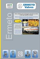 Ermeto vales, ermetovalves, valves, chlorine, chlorine valves, Ermeto valves brochure, CL2, safe carriage of liquefied toxic