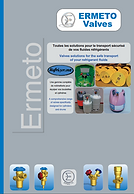 Ermeto vales, ermetovalves, valves, robinetterie, refrigerant, refrigerant fluids, safe carriage, refrigerant brochre