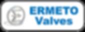 Logo ''Ermeto Valves'' Robinetterie, valves, chlore, réfrigérants, fabricant
