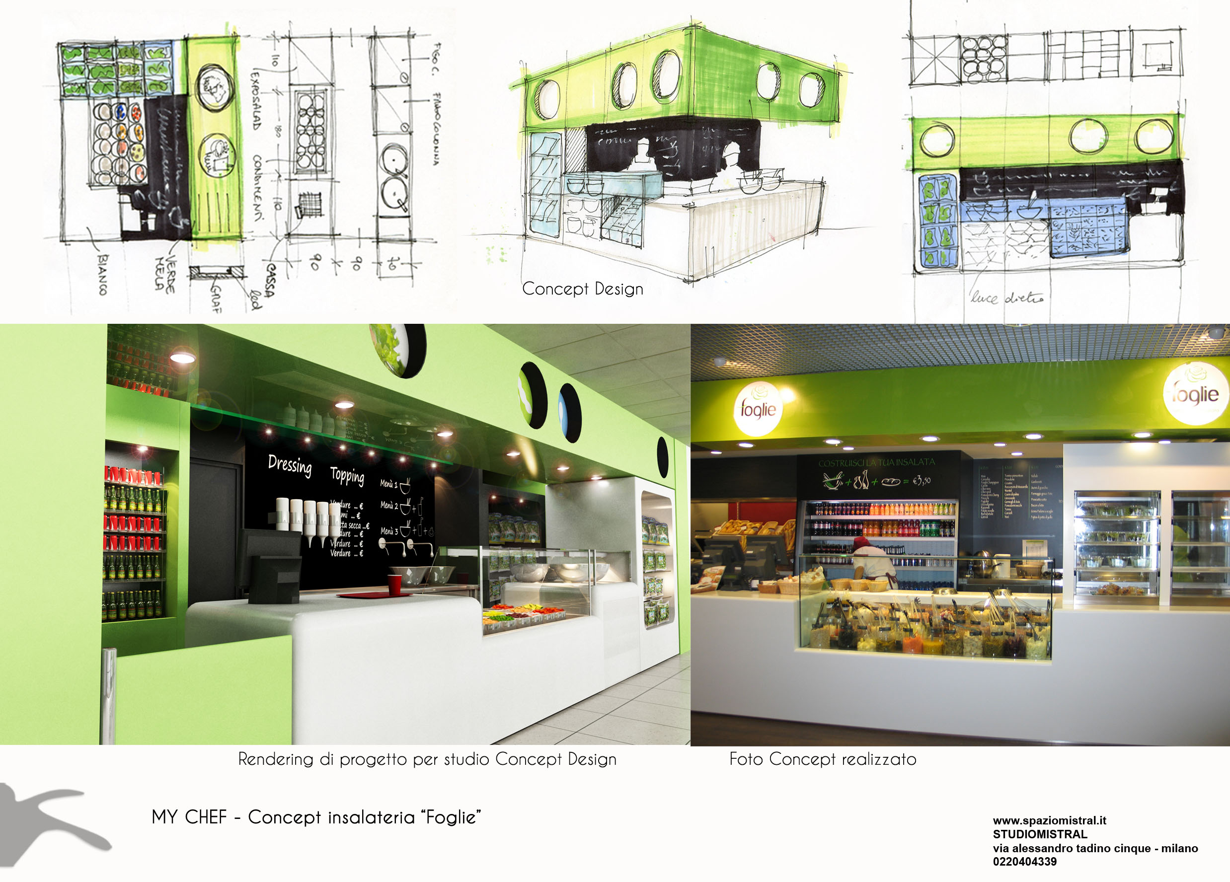 sviluppo Concept per corner