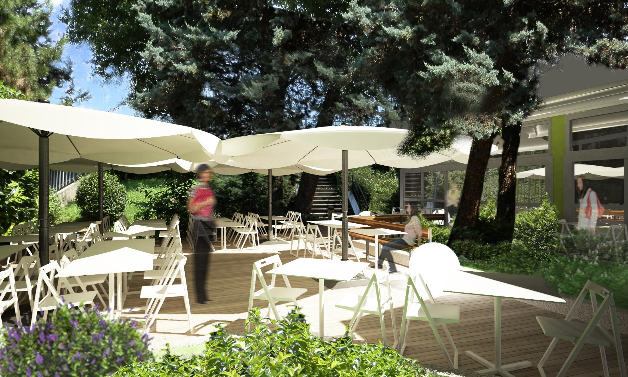 Restyling area esterna Ristorante