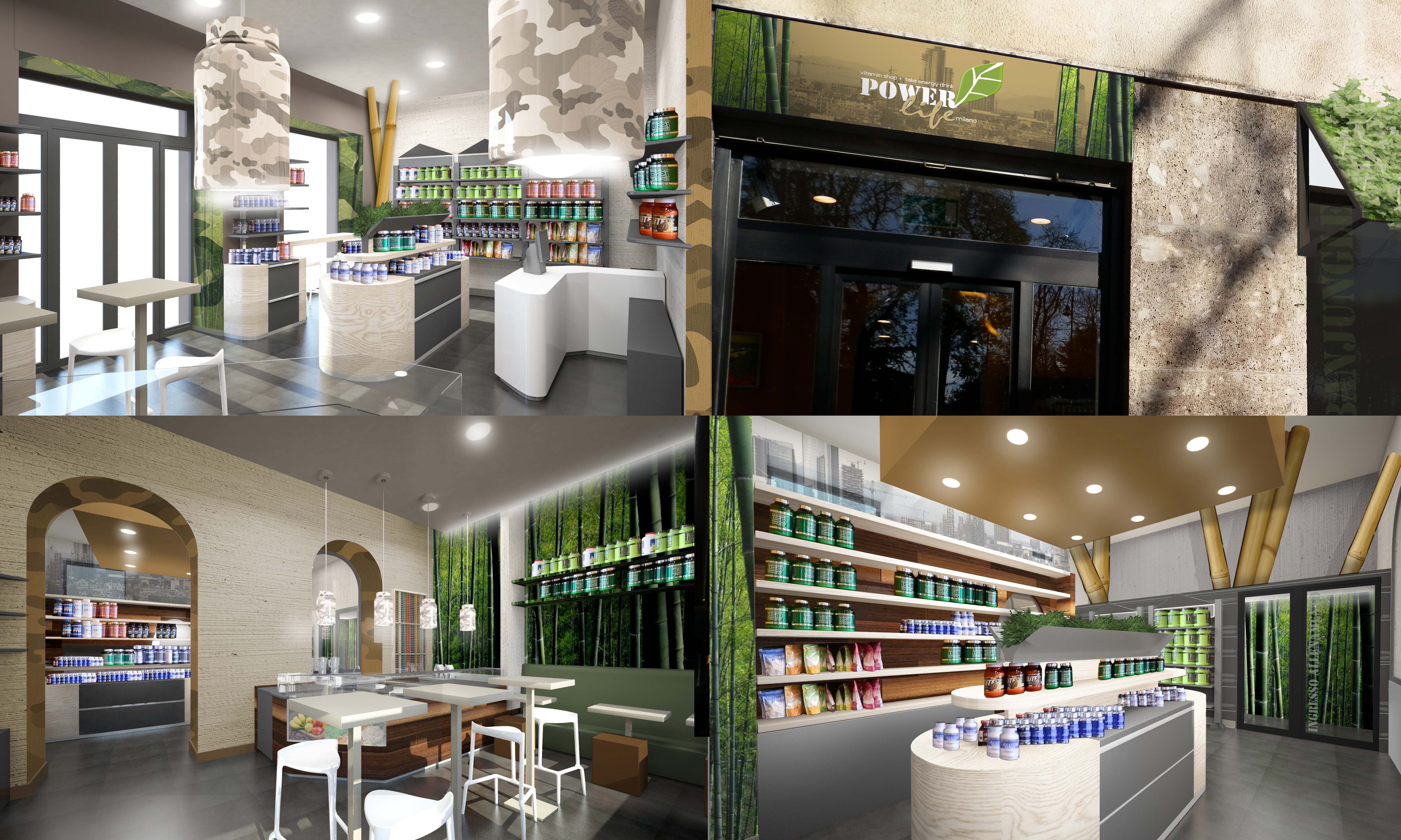 Restyling Vitamin Store