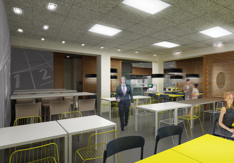 Progetto Area ristorativa / Adidas