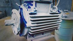Målning av motor | BRAMMER