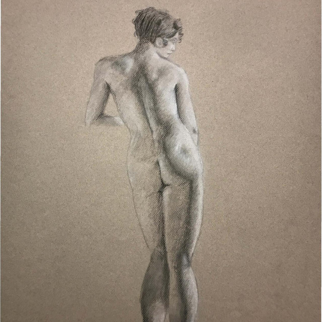 Master Drawing in Charcoal