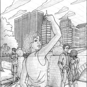 Illustration in Graphite