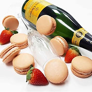 Strawberry Champagne macarons.jpg