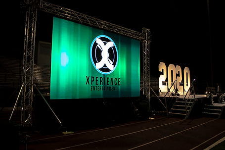 LED Video Wall Rental in Peoria AZ for Movie Night Rentals