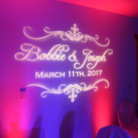 Arizona Light Rentals Custom Wedding Monogram Rentals
