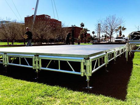 Arizona Small stage Rentals in Phoenix, Scottsdale, Peoria, Glendale, Paradise Valley Arizona