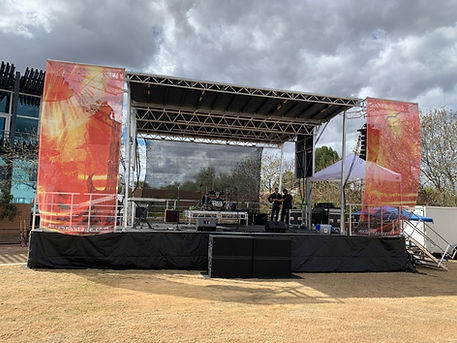 Arizona Concert stage Rentals in Phoenix, Scottsdale, Peoria, Glendale, Paradise Valley Arizona