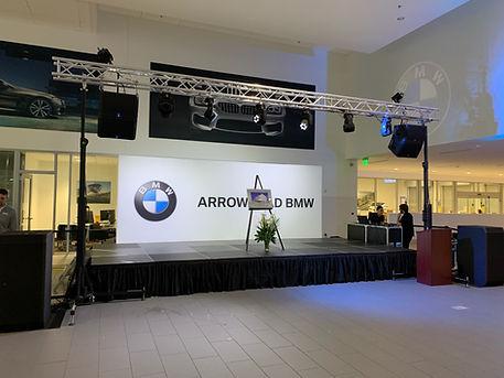 Arizona Corporate Event stage Rentals in Phoenix, Scottsdale, Peoria, Glendale, Paradise Valley Arizona