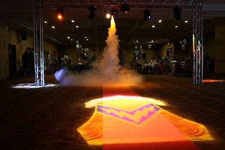 Wedding GOBO Monogram Lighting Rentals in Arizona