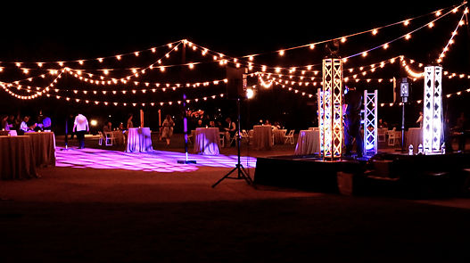 Bistro String Lighting Rentals in Arizona