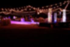 Bistro String Lighting Rentals in Phoenix Arizona