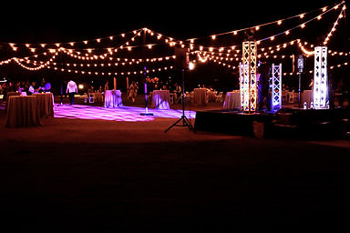 Bistro String Lighting Rentals in Phoenix Arizona