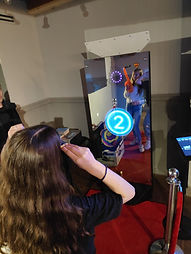 Interactive Mirror X Photo Booth Rental in Phoenix, Arizona