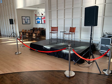 Red Carpet Stanchions and Rope Rentals in Phoenix and Scottsdale Arizona