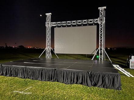 Outdoor Video Wall Rental in Arizona